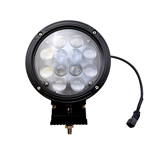 SiriusLED Universal Add On 7 Inch 60W LED Flood Spot Combo Lights Bar for Car Headlight fog light off road hunting out door kit