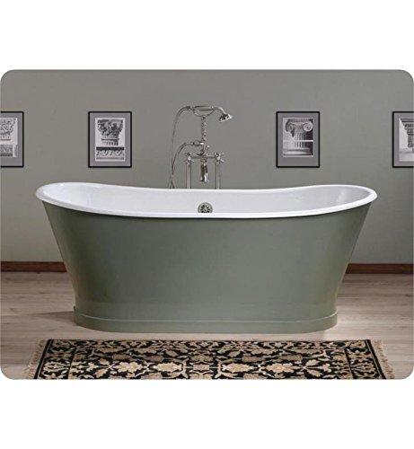 Cheviot Products Inc. 2124-WC Cheviot Products Balmoral Cast Iron Bathtub Custom, 27
