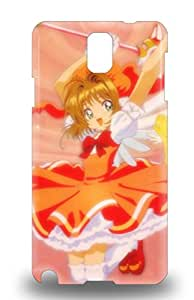 Waterdrop Snap On Japanese Kinmoto Sakura Card Captor Sakura Lovely Girl 3D PC Case For Galaxy Note 3 ( Custom Picture iPhone 6, iPhone 6 PLUS, iPhone 5, iPhone 5S, iPhone 5C, iPhone 4, iPhone 4S,Galaxy S6,Galaxy S5,Galaxy S4,Galaxy S3,Note 3,iPad Mini-Mini 2,iPad Air )