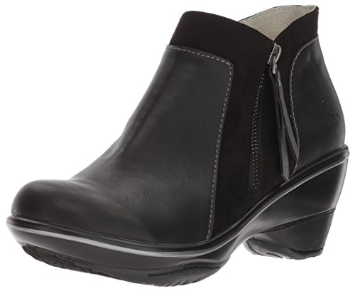 JBU by Jambu Women's Pilot Wedge Pump, Black, 6.5 M ()