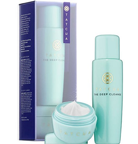Tatcha Pore-Perfecting Moisturizer & Cleanser Duo - Water Cream & Deep Cleanse
