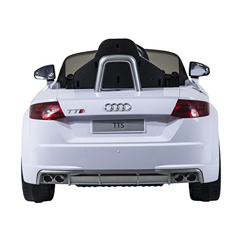 Audi V Kids Electric RideOn Car With Remote Control White - Audi 6v car