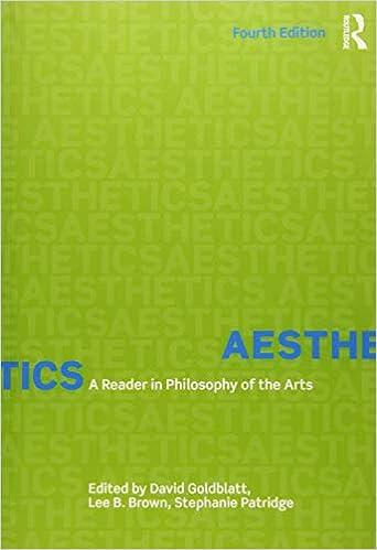 Amazon Com Aesthetics A Reader In Philosophy Of The Arts 9781138235885 Goldblatt David B Brown Lee Patridge Stephanie Books