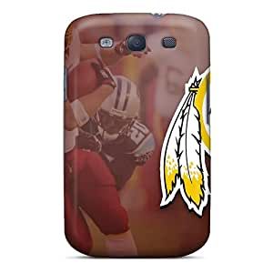 New Tpu Hard Cases Premium Galaxy S3 Skin Cases Covers(washington Redskins)