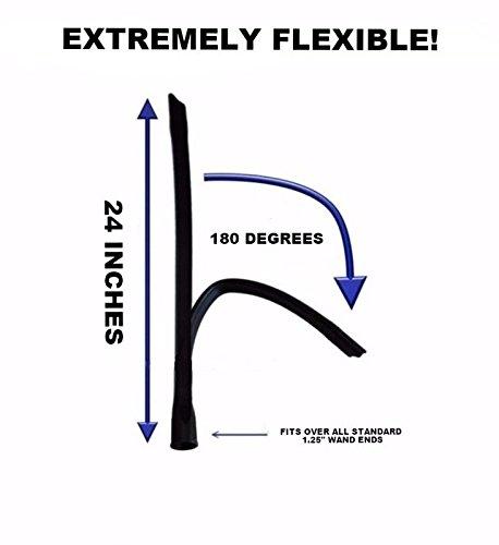 Pokin for Dryer Vent Vacuum Cleaner Attachment Flex Tool 24