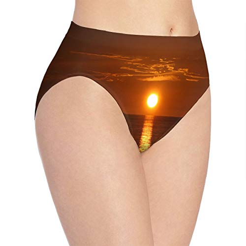 Womens Underwear Sunrise with Linear Reflection