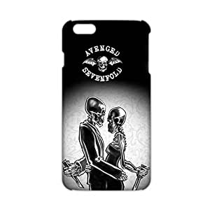 Ultra Thin AVENGED SKULL 3D Phone Case for Iphone 6 Plus