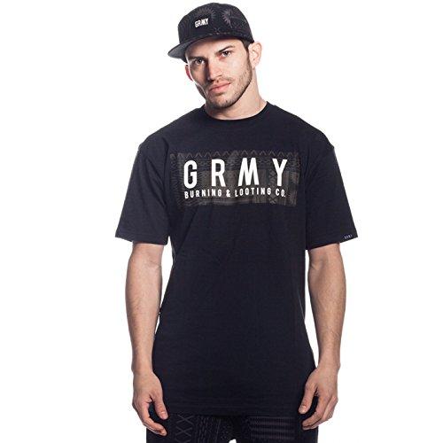 Grimey Camiseta GRMY T.R.I.B.E tee SS16 BLACK-3XL  Amazon.es  Ropa y  accesorios b4018cf1029