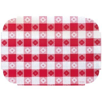 Hoffmaster Red Gingham Decorator Placemats 50 Per Pack