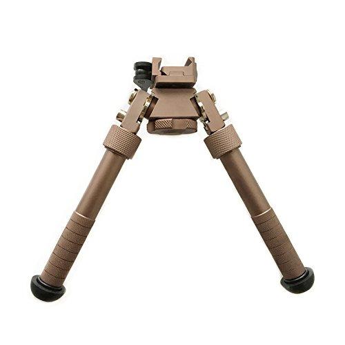 HWZ (Dark Earth DE) CNC QD Tactical 6.5 - 9 inch Bipod Adjustable