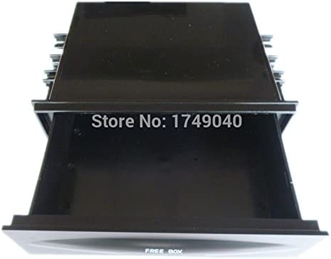 Car Single Double Din Dash Radio Installation Pocket Kit Storage Box Universal