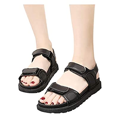 Baiggooswt Women's Summer Wild Sports and Leisure Flat Bottom Beach Shoes Platforms Cut-Outs Sandals Slippers: Clothing