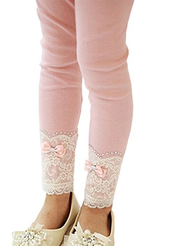 Girls Cotton Stretch Leggings Trousers product image