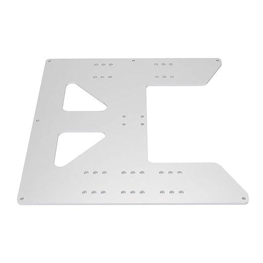 FYSETC Anet A8 Piezas, Placa 8.6 x 8.6 pulgadas aluminio anodizado ...