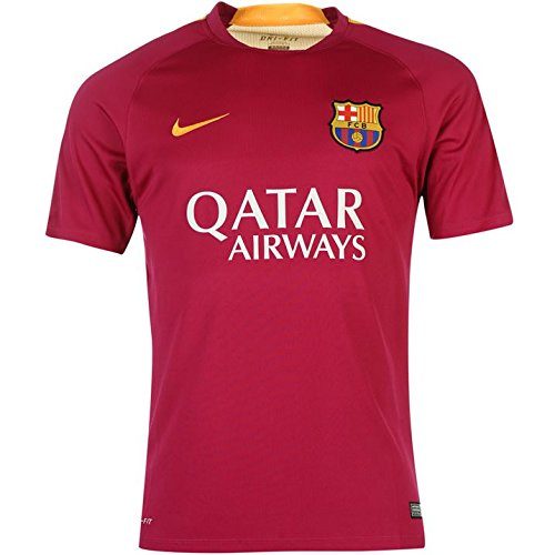 Nike FC Barcelona Pre-Match Training Mens Jersey [DYNAMIC BERRY] (Pre Match)