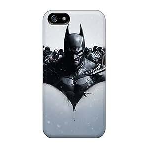 FCKLocation RII433neoE Case Cover Iphone 5/5s Protective Case Batman Arkham Origins Video Game