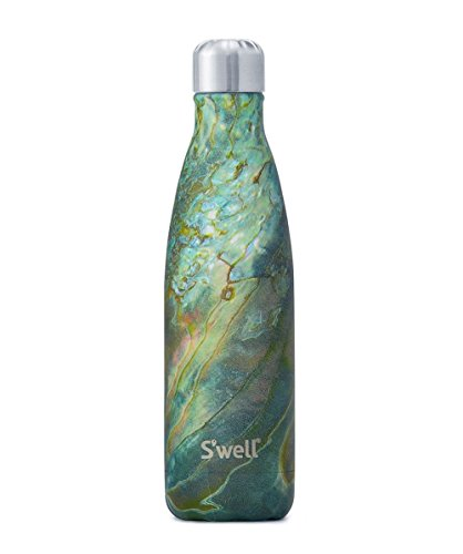 30 Stainless Water Bottle, 17 oz, Abalone Shell (Shell Water)