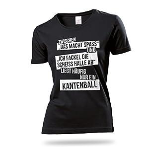 Lustiges Damen Tischtennis Training T-Shirt / hochwertiges und witzig...