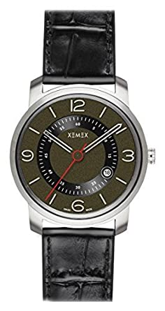 XEMEX Armbanduhr PICCADILLY QUARTZ Ref. 880.24 3 HANDS DATE