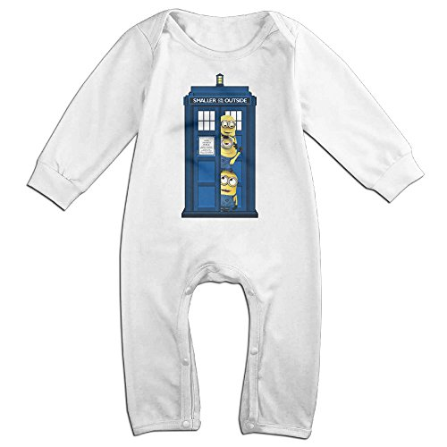 [OLGB Babys Doctor Dr Long Sleeve Bodysuit 18 Months] (Costume Design Online Classes)