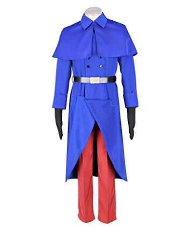 Mtxc Men's Hetalia: Axis Powers Cosplay Costume France