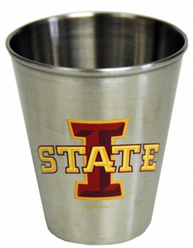 Ncaa Stainless Shot Glass (NCAA Iowa State Cyclones Shotglass Stainless Steel)