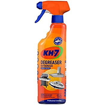 KH-7 Concentrated Degreaser, Professional-grade. Effortless All-Purpose Cleaner: Kitchen, Grill, Oven, Laundry & More! 1 Bottle 25 oz