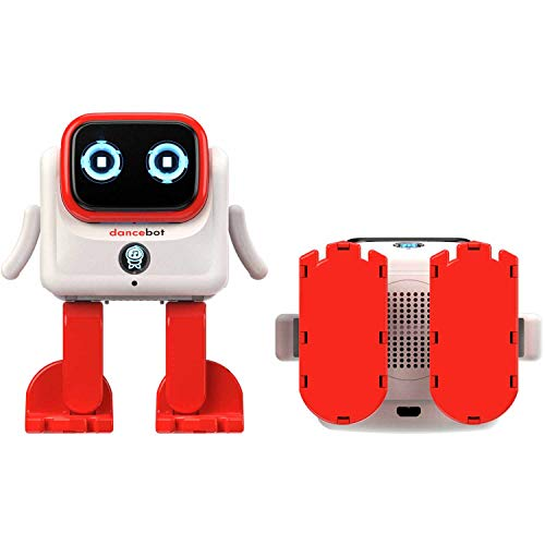 Echeers Kids Toys Dancing Robot for Boys and Girls, 2 Pack Educational Dance Robot Toys for Kids with Stereo Bluetooth Speakers, Rechargeable and Follow Music Beats Rhythm, All Age Children -Red, Blue by ECHEERS (Image #9)