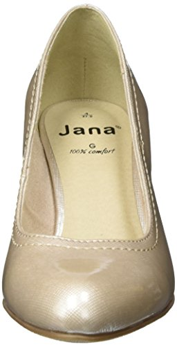 Pat pumps duna 497 donna beige da 22405 Jana Struc Yqwz4z