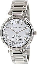 Michael Kors Skylar Silver Dial Stainless Steel Ladies Watch MK5866