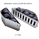 BBQ funland WG403 (1-Pair) Char-Basket Charcoal Briquet / Charcoal Fuel Holders
