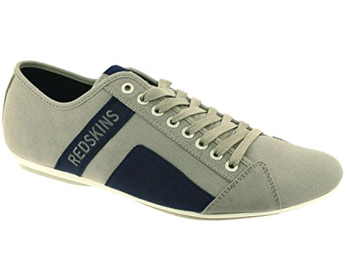 Baskets Redskins Mode Homme Gris Gris Bank ZEEqf