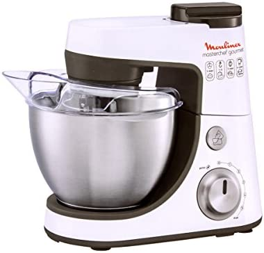 Moulinex Qa4081b1 - Robot multifunción (4L, 900 W), color blanco ...