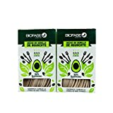 Paquete con 2 Cajas 24 pzas cada una. Mix de cubiertos hechos con Semilla de Aguacate 100% Biodegradables. Incluye Cucharas(8), Tenedores(8) y Cuchillos(8) | BIOFASE