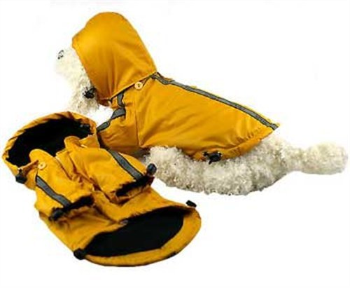Pet Life Reflecta-Sport Dog Raincoat Medium by Pet Life
