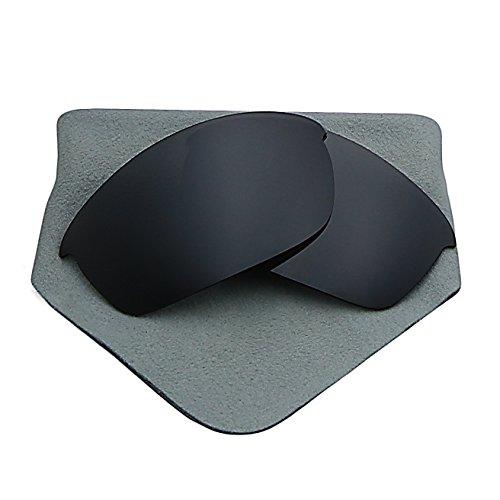Polarized Lenses Replacement for Oakley Flak Jacket Black Iridium - 881 03 Oakley