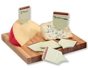 DRH Collection - Etiquetas para quesos con rotulador (6 unidades)