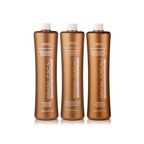 7b71c724d8131 Amazon.com   Brasil Cacau Keratin Kit   Shampoo And Conditioner Sets    Beauty