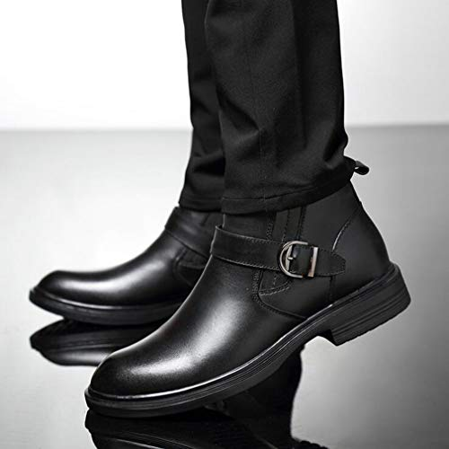 Formal Negocios Botas Calzado Otoño Carrera 43 Altas Hy Hombre Oficina Tamaño De Y Un Un Chelsea Martins color qBC8wnS