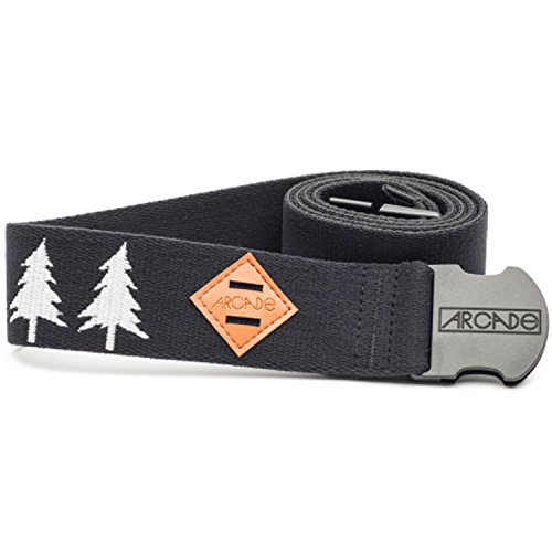 Arcade Belt Co. Men's The Blackwood Belt, Black/White, One Size