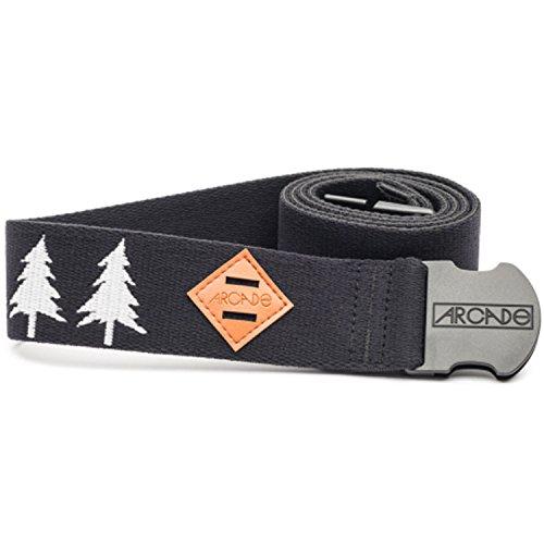 Arcade Belt Co. Men's The Blackwood Belt, Black/White, One Size