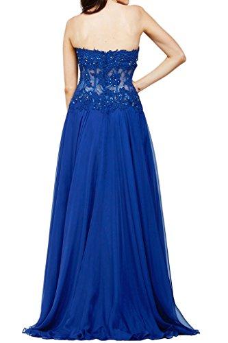 Missdressy -  Vestito  - linea ad a - Donna Blu Royal 42