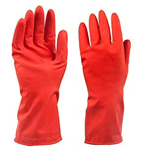 Amazon.com: Taco Mocho 1 Pair Home rubber Household Gloves