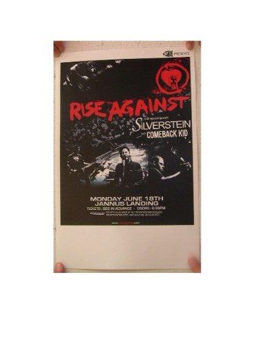 (Rise Against Handbill Poster Band Shot)