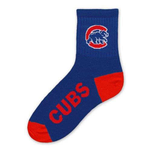 MLB Chicago Cubs Men's Team Quarter Socks, Youth