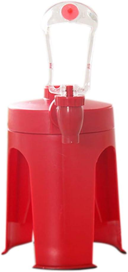 rongweiwang Desktop Bevanda Distributore Automatico Bevande Water Dispenser Bottiglia ABS Soda Drink Portatile Capovolto Soda Dispositivo Bottiglia di erogazione