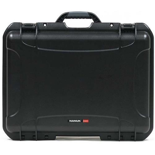 Nanuk 940 Waterproof Hard Case with Padded Dividers - Black