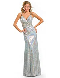 Sexy Halter Prom Gown 6032 by Party Time