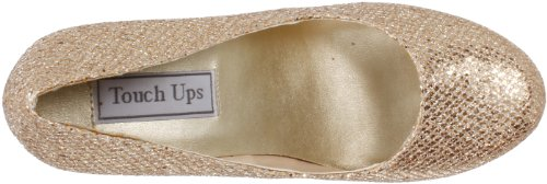 Touch Ups Women's Candice Platform Pump Champagne Glitter new for sale release dates cheap price outlet Manchester 5eenxE3