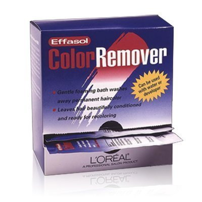 (L'Oreal Effasol Color Remover, Leaves Hair Ready for Recoloring, 1 Packet)